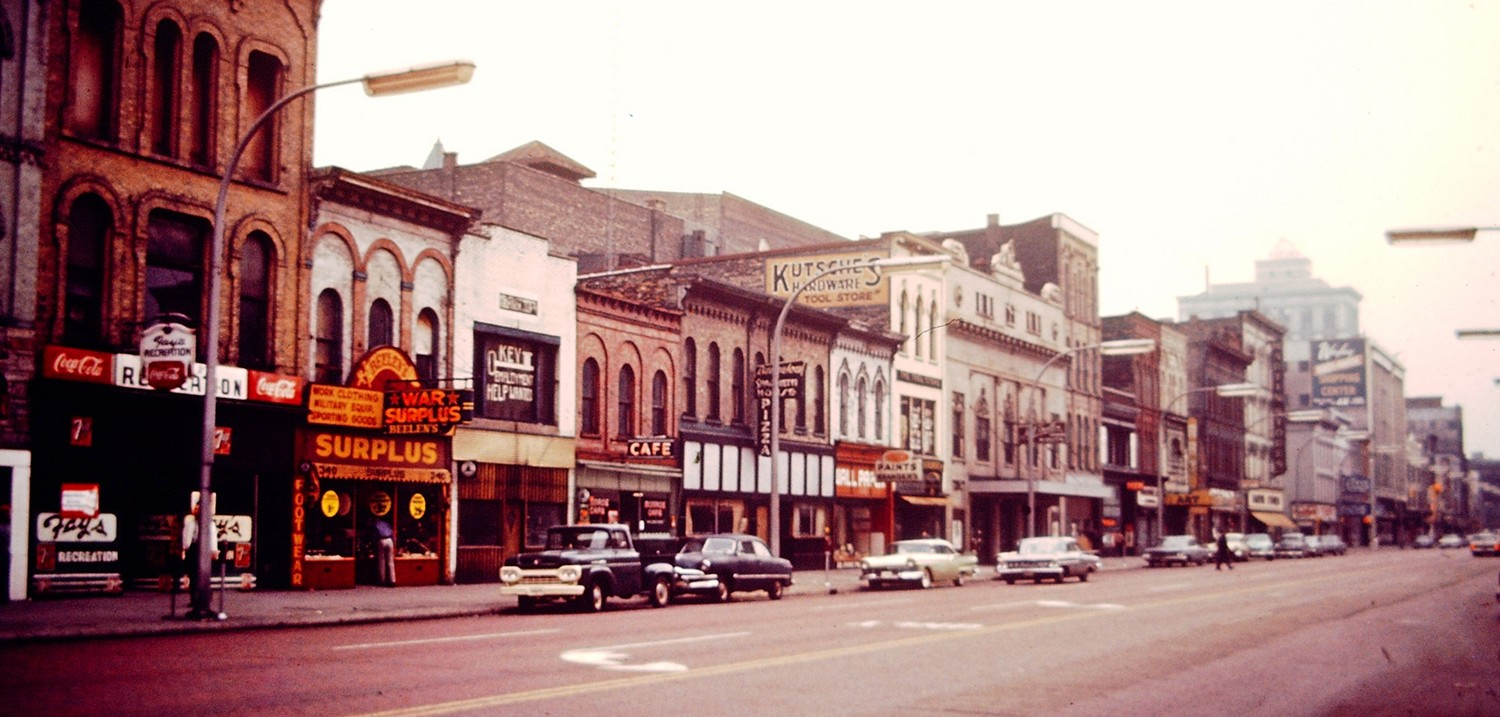 old photo of Grand Rapids